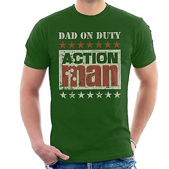 Action Man Dad On Duty Men's T-Shirt