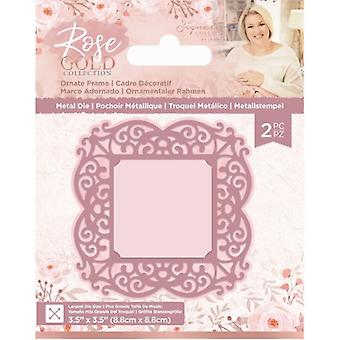 Crafter's Companion Rose Gold Ornate Frame Die