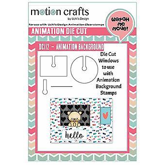 Uchi's Design Animation Die Cut Animation Background Windows
