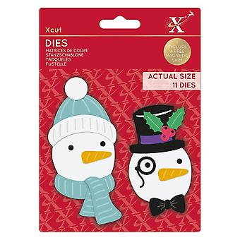 Xcut kuolee rakentaa lumiukko