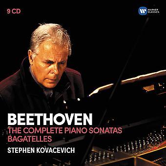 Kovacevich*Stephen - Beethoven: The 32 Piano Sonatas Bagatelles [CD] USA import