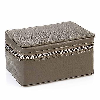 Richmond Läder Prydnadssak Box i olivgröna