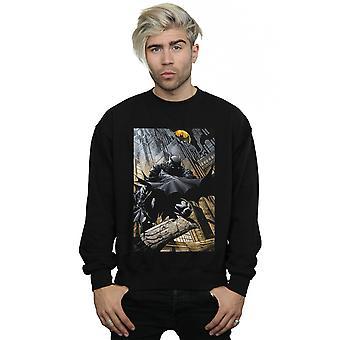 DC Comics Men's Batman Night Gotham City Sweatshirt
