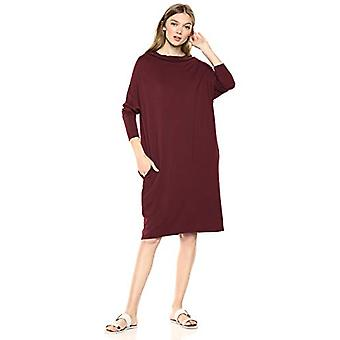 Brand - Daily Ritual Women's Supersoft Terry Modern Funnel-Neck Dress,...