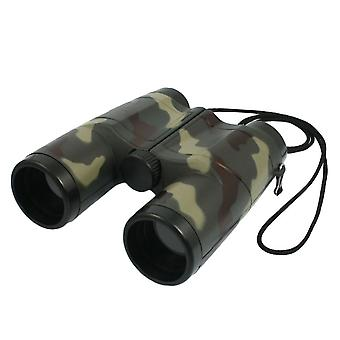 Kids 4x 31mm Lens Camouflage Pattern Binocular Telescope For Child Fun
