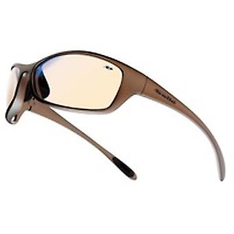 Bolle Spiesp Spider Glasses Bronze Nylon Frame /W Tipgrip And Tpe Comfort