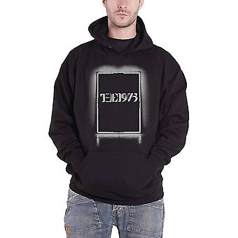The 1975 Hoodie Black Tour Band Logo new Official Mens Black Pullover