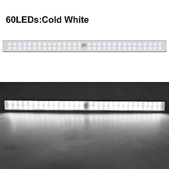 24 40 60 Led Closet Light Usb Rechargeable  With Magnetic Strip