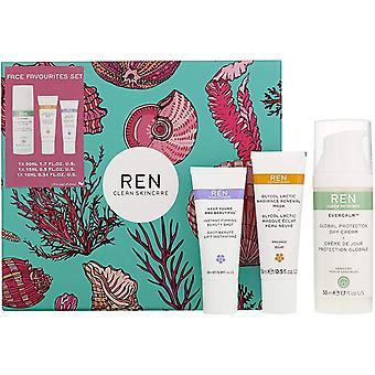 Ren Clean Skincare Face Favorieten Gift Set 3 stuks