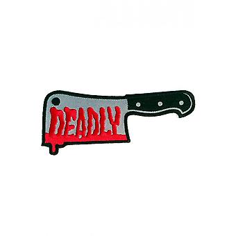 Sourpuss Clothing Deadly Cleaver Patch