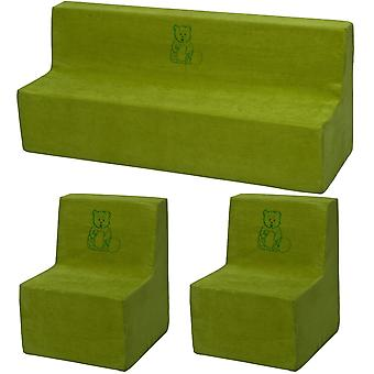 Kleinkind Möbel Set umfangreiches Grün