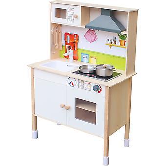 Junior kock enero mini trä kök för barn