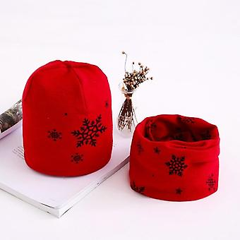 Autumn Winter Star Print Cotton Hat And Baby Beanie Caps's Accessories