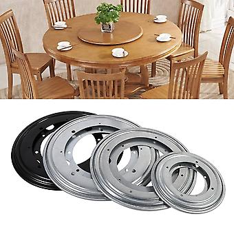 4 Types Heavy Duty Round Shape Galvanized Lazy Susan Turntable Bearing Rotating Swivel Plate