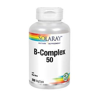 Solaray B-Complex 50, 250 Caps