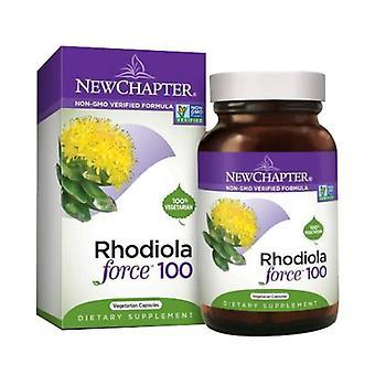New Chapter Rhodiola Force, 100 mg, 30 Veg Caps