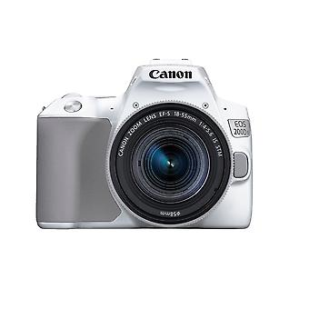 CANON EOS 200D II Kit blanc EF-S 18-55mm F4-5.6 IS STM Silver
