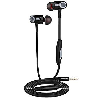Langsdom EH360 Outdoor Metal Bass In-ear Earphone Headphone