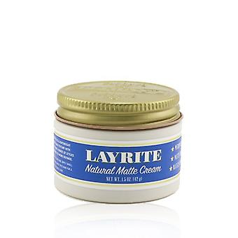 Layrite Natural Matte Cream (Medium Hold, Matte Finish, Water Soluble) 42g/1.5oz