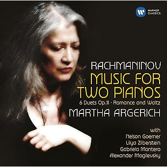 Rachmaninov - Works for 2 Pianos [CD] USA import