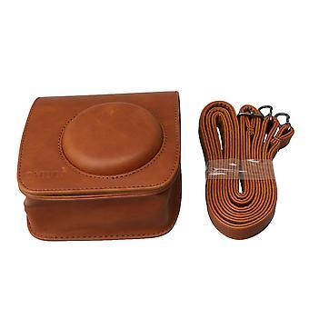 PU Leather Camera Carrying Bag Protector for Fuji Mini25 Film Camera