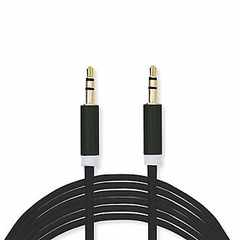 FX Powabud Aux-In-Cable 3.5mm Braided - Black