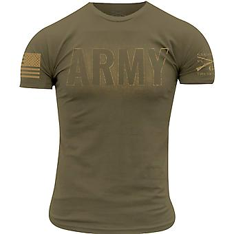 Grunt Style Army - Blackout T-Shirt - Tan 499