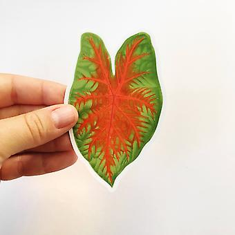 Tropical Leaf Sticker