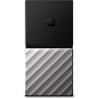 Wd my passport 1 tb portable ssd up to 540 mb/s read- black/silver new generation