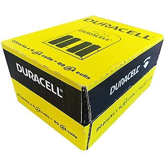 Duracell Plus B4 Battery (R6 - 1500) AA 4's x20