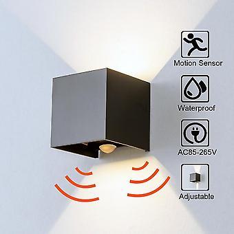 Radar Sensor Porch Light, Adjustable Angle Outdoor & Indoor Led Wall Light