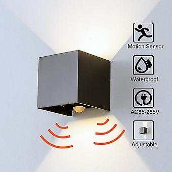Radar Sensor Veranda Ljus, justerbar vinkel Utomhus & Inomhus Led Väggljus