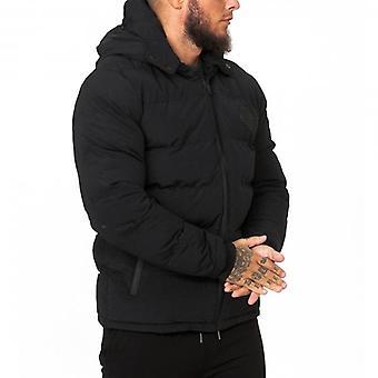 Soul Star Miche Puffer Jacket Black