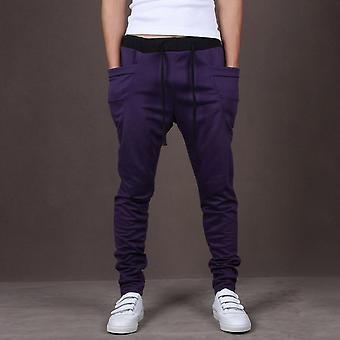Fashion Men Joggers Sweatpants- Big Pockets Gym Broeken Hip Hop Broek