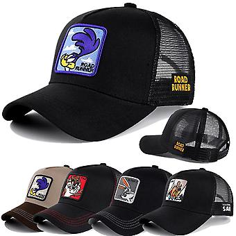 Mesh Cotton Baseball Cap Women - Hip Hop Trucker Hat