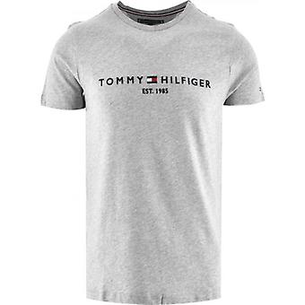 Tommy Hilfiger Grey Core Tommy Logo T-Shirt