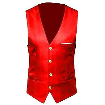 Dress Vests, Slim Fits, Suit Male Waistcoat, Casual Sleeveless
