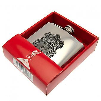 Liverpool FC Crest Hip Flask