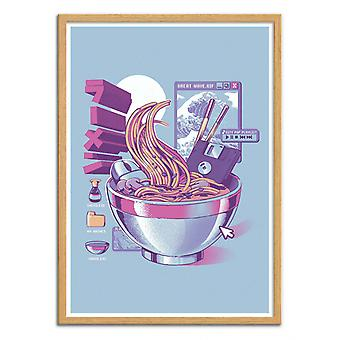 Art-Poster - Web Ramen - Ilustrata