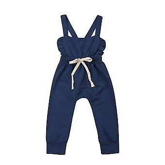 Newborn Baby Stripe Romper, Overalls Pants Cotton Soft Outfit Clothes Suit