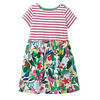 Party-Kleid, Dschungel-Design, Kleinkind