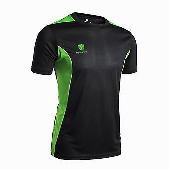 T-shirt da corsa sportiva da uomo, asciugatura rapida, basket a maniche corte