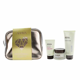 Everyday mineral essentials set: essential day moisturizer 50ml+ purifying mud mask 100ml+ mineral hand cream 40ml+ bag 259197 3pcs+1bag