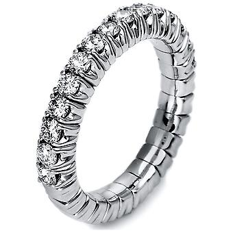Luna Creation Promessa Ring Memoire Half 1M248W456-1 - Ring Width: 56