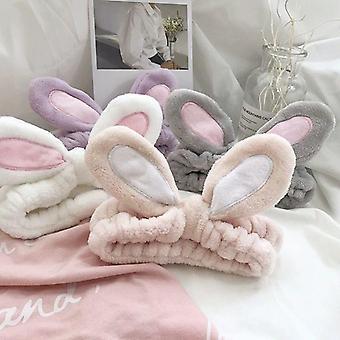 Cartoon Rabbit Ears Elastyczna bawełniana czapka z daszkiem