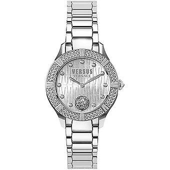 Versus by Versace Women's Watch Wristwatch Canton Road VSP261519 Stainless Steel