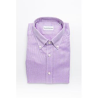Pink Robert Friedman Men's Shirt