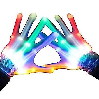 Gifts For 7-12 Year Old Boys Girls Teen, Led Light Up Gloves For Kids