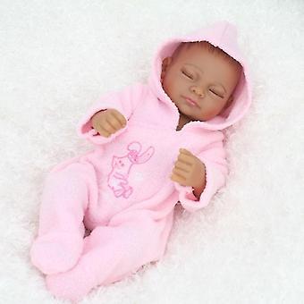 قطعة واحدة سترة تعيين مع هوديي ل 11 بوصة طفل حديث الولادة دمية