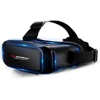 K2 smart vr briller virtuell virkelighet mobiltelefon 3d kino spill egnet for 4.7-6.9 tommers telefoner ved hjelp av VR hjelmer